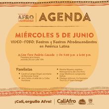 Video-Foro: Rostros y Rastros Afrodescendientes en América Latina