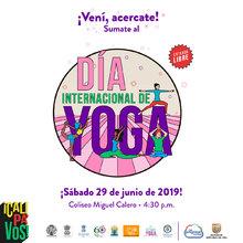 Cali pa vos: Día Internacional de Yoga