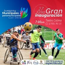 Inauguración XIV Juegos Municipales y Paramunicipales Cali 2019