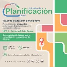 Presentación de propuestas de proyectos - Navarro (UPR 5)