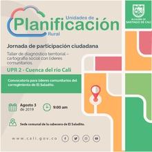 Taller de diagnóstico territorial - El Saladito (UPR 2)