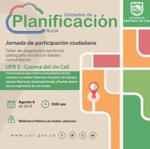 Taller de diagnóstico territorial - Los Andes (UPR 2)