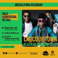 Música para recargar Chocquibtown Plaza de Bolivar 2018  - Centro Cultural de Cali, Carrera 5 No. 6-05 - Salón 218