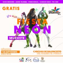 Fiesta Neón - Cali SportFest2019