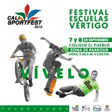 Festival Escuelas Vértigo - Cali SportFest2019