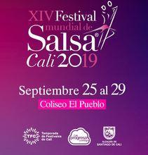 XIV Festival Mundial de Salsa a celebrarse del 25 al 29 de septiembre en el Coliseo El Pueblo - Encuentro de Viejotecas Caleñas
