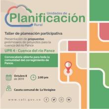 Presentación de propuestas de proyectos - Pance (UPR 4)