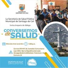 Espacio de Diálogo Conversemos de Salud. Comuna 16