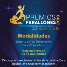 Premios Farallones 2019