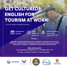 Get Cultured! English for tourism at work