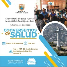 Espacio de Diálogo Conversemos de Salud. Comuna 8