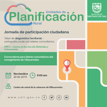 Taller de diagnóstico territorial - Villacarmelo (UPR 3)