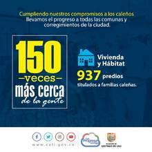 40 datos sobre la gestión de la Alcaldía de Cali tras 150 visitas a los territorios