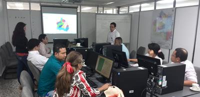Divulgación del proyecto IDESC - 2014
