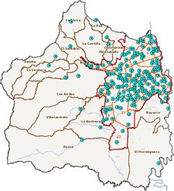 Disponible mapa de Puestos de Votación