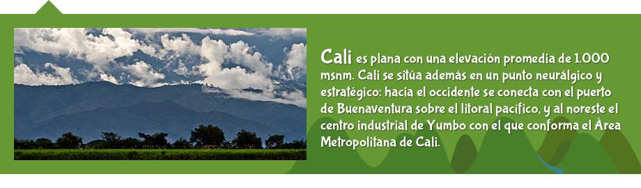 Alcald?a de Cali - Geograf?a de Cali