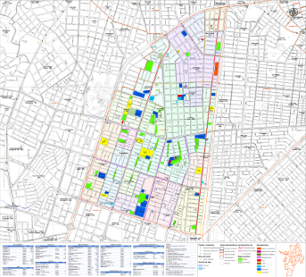 Mapas de barrios por comunas