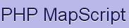 PHP/Mapscript