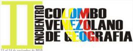 II Encuentro Colombo-Venezolano de Geografía