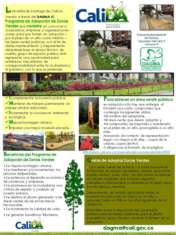 Adopción Zonas Verdes