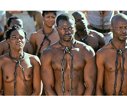 Esclavo en el cuello