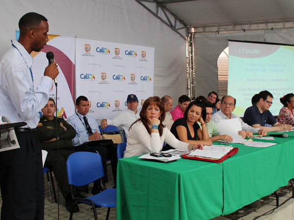 El consejo comunitario en la Comuna 15 se realizará el 4 de mayo