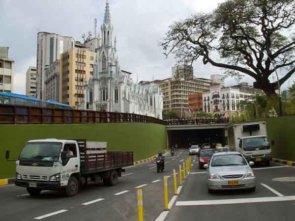 El túnel de la Av. Colombia operará por 30 días de 5:00 a.m. a 10:00 p.m.