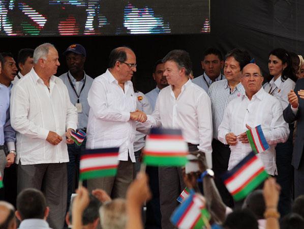 """""""Los caleños saben cómo liderar Emcali, la empresa de todos los ciudadanos"""": Santos"""