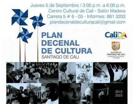Socialización del Plan Decenal de Cultura de Cali
