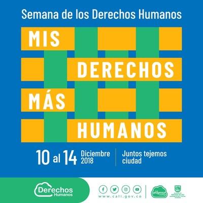 Semana de los Derechos Humanos - Mis derechos más humanos