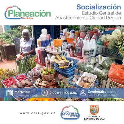 Socialización estudio de abastecimiento de la Ciudad-Región