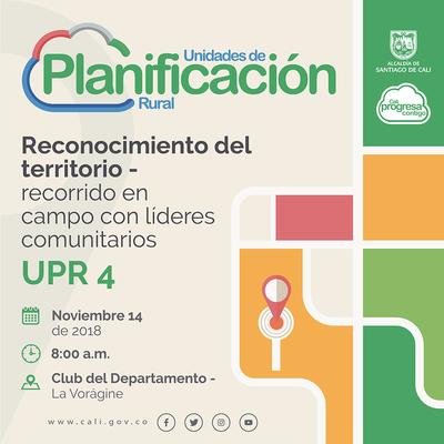 Reconocimiento del territorio UPR 4 - Pance