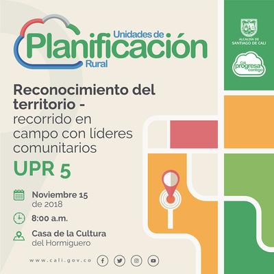 Taller de diagnóstico territorial UPR 5 - El Hormiguero