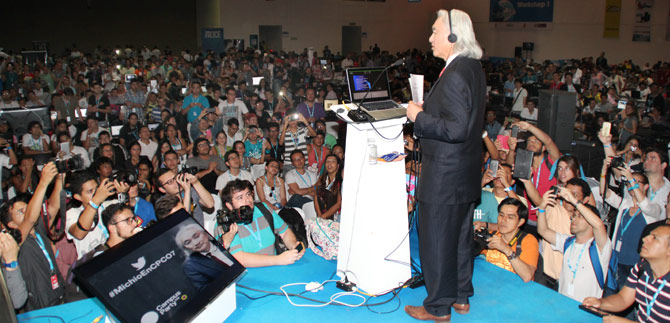 3000 campuseros baten registros de asistencia al Campus Party