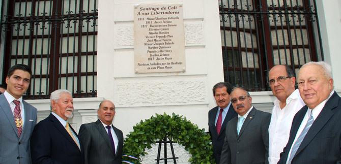 Orgullo caleño ondeó en la celebración de 204 años del Grito de Independencia