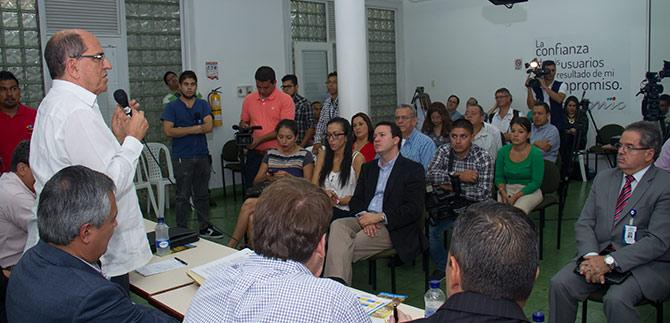 Firma del convenio con transportadores fortalecerá el MIO, sostiene Alcalde  Guerrero