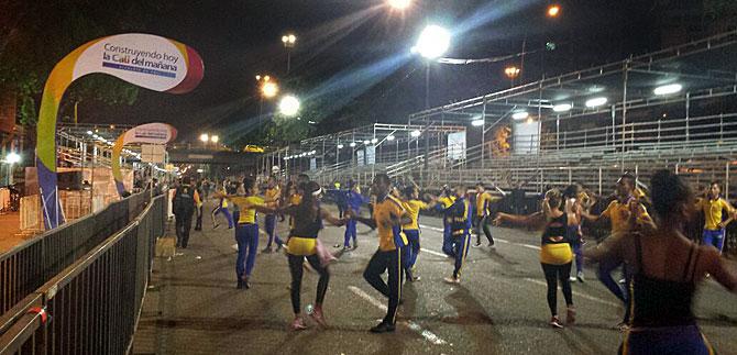 Garantizan seguridad de bailarines y espectadores en el Salsódromo, luego de simulacro