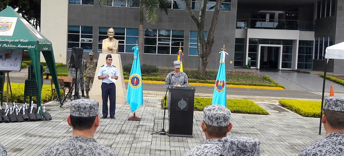 Exitosa, jornada para declarar territorio libre de zancudo a la Escuela Militar de Aviación y comunas aledañas